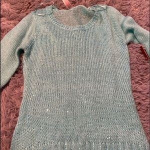 NWT sequined sweater